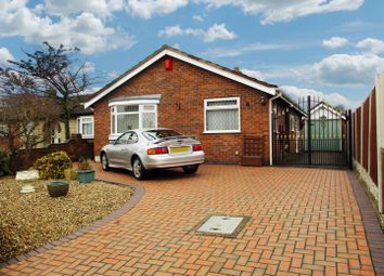 Thumbnail 2 bedroom detached bungalow for sale in James Street, Stoney Stanton, Leicester