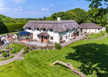 Thumbnail 5 bed detached house for sale in Thatchers Lane, Norley Wood, Lymington