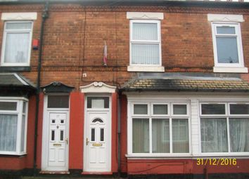 Thumbnail 3 bed terraced house for sale in Charles Road, Aston