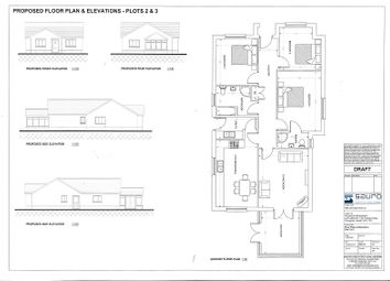 Thumbnail 3 bed detached house for sale in Development Site, Waterloo Road, Penygroes, Llanelli, Carmarthenshire.