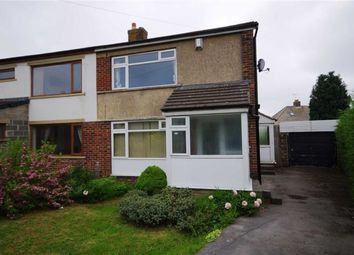 Thumbnail 3 bed semi-detached house for sale in The Fairway, Illingworth, Halifax