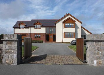 Thumbnail 4 bed detached house for sale in Llangristiolus, Bodorgan