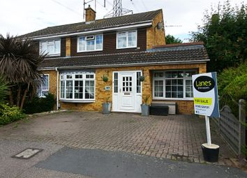 Thumbnail 4 bed semi-detached house for sale in Perrysfield Road, Cheshunt, Waltham Cross