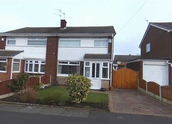 Thumbnail 3 bed semi-detached house for sale in Wood Hey Grove, Denton, Manchester