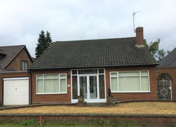 Thumbnail 2 bed detached bungalow to rent in Cornwall Road, Walsall