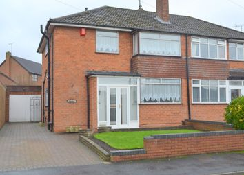 Thumbnail 3 bed semi-detached house for sale in Eaton Crescent, Lower Gornal