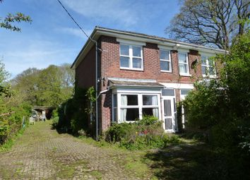 Thumbnail 3 bed semi-detached house for sale in Nobs Crook, Colden Common, Winchester