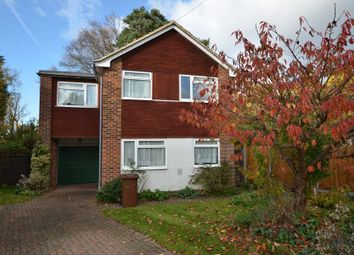 Thumbnail 4 bed detached house to rent in Whitehill Close, Camberley