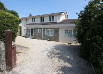 Thumbnail 5 bed detached house for sale in Llancadle, Barry