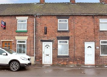 Thumbnail 2 bed terraced house for sale in Cheadle Road, Tean, Stoke-On-Trent, Staffordshire