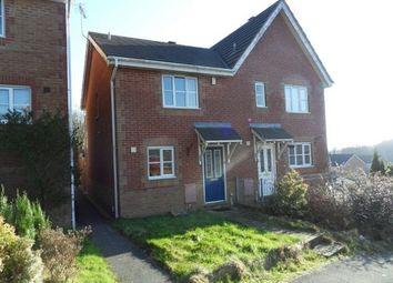 Thumbnail 2 bedroom semi-detached house to rent in Coleridge Crescent, Killay, Swansea
