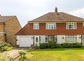 Thumbnail 3 bed semi-detached house for sale in Fairfield Way, Hildenborough, Tonbridge