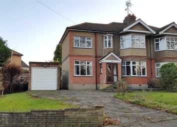 Thumbnail 4 bed semi-detached house for sale in Browning Road, Enfield