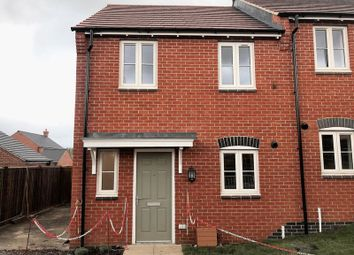 Thumbnail 2 bed semi-detached house to rent in Moira Road, Shellbrook, Ashby-De-La-Zouch