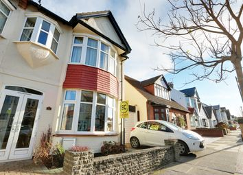 Thumbnail 4 bed semi-detached house for sale in Woodfield Park Drive, Leigh-On-Sea, Essex