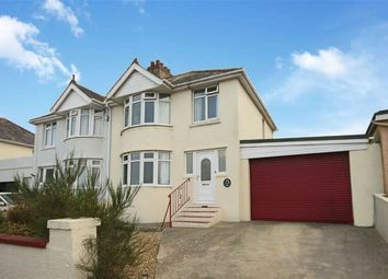 Thumbnail 3 bedroom semi-detached house for sale in Heath Road, Central Area, Brixham