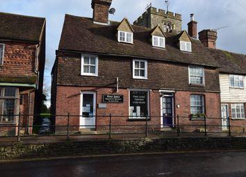 High Street, Staplehurst, Tonbridge TN12. 3 bed cottage for sale