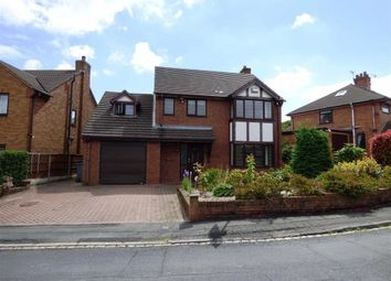Thumbnail 4 bedroom detached house to rent in Elmsmere Avenue, Longton, Stoke-On-Trent