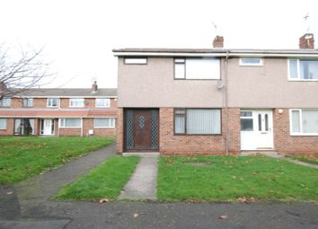 Thumbnail 3 bed property for sale in Elsdon Close, Blyth