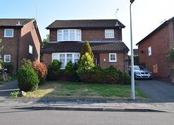 Thumbnail 3 bed detached house for sale in Dawlish Close, Stevenage, Hertfordshire