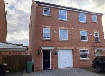 Thumbnail 4 bed semi-detached house for sale in James Street, Leabrooks, Alfreton