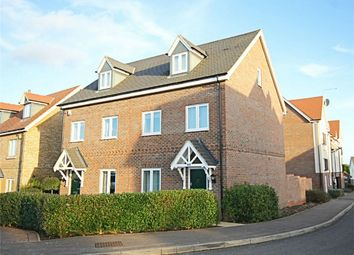 Thumbnail 3 bed town house for sale in School Lane, Sawbridgeworth, Hertfordshire