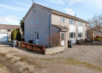 Thumbnail 2 bed flat for sale in Heron Crescent, Ellon