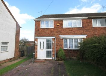 Thumbnail 3 bed semi-detached house to rent in Hayhurst Road, Luton