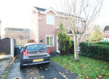 Thumbnail 2 bed semi-detached house to rent in St Bridgets Close, Fearnhead, Warrington