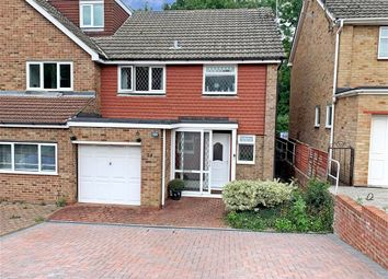 Thumbnail 3 bed semi-detached house for sale in Marion Close, Chatham, Kent