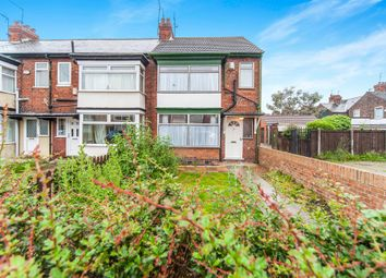 Thumbnail 3 bed end terrace house for sale in Tennyson Avenue, Hull