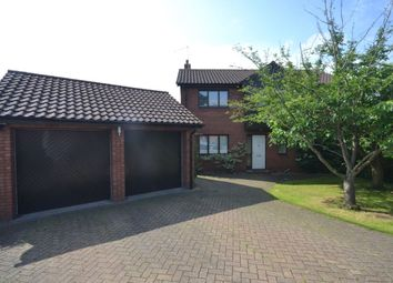Thumbnail 4 bed detached house to rent in Lapwing Close, East Hunsbury, Northampton