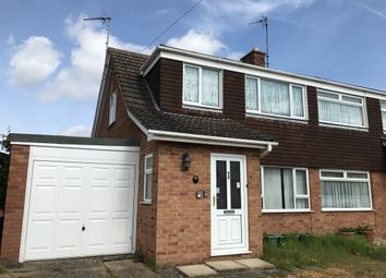 Thumbnail 3 bed semi-detached house for sale in Blenheim Road, King's Lynn