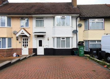 Thumbnail 3 bed terraced house for sale in Sundale Avenue, South Croydon
