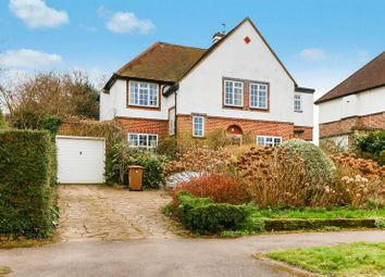 Thumbnail 4 bed detached house for sale in Burgh Wood, Banstead