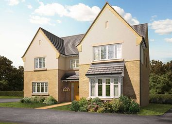 "Thumbnail 5 bed detached house for sale in ""The Inkberry"" at Knightley Road, Gnosall, Stafford"