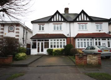 Thumbnail 4 bed semi-detached house for sale in Park Crescent, Enfield, Hertfordshire