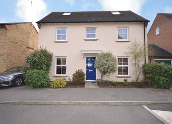 Thumbnail 5 bed detached house for sale in Avington Way, Sherfield-On-Loddon, Hook