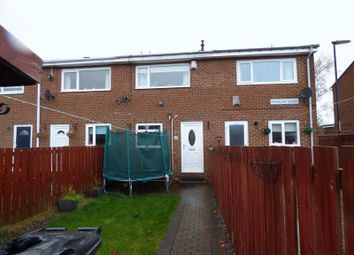 Thumbnail 2 bed terraced house for sale in Wimslow Close, Wallsend