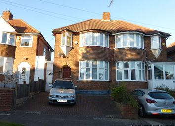 Thumbnail 3 bed semi-detached house to rent in Glenpark Road, Wardend, Birmingham