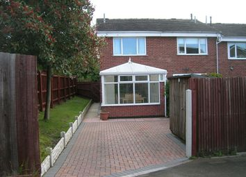 Thumbnail 2 bed town house for sale in Springfield Close, Eckington