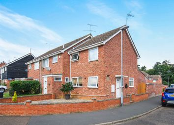 Thumbnail 2 bedroom end terrace house for sale in Cunningham Close, Thetford, Norfolk