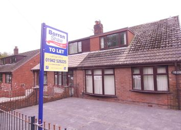 Thumbnail 2 bed semi-detached house to rent in Bickershaw Lane, Abram, Wigan