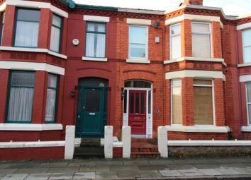 Thumbnail 3 bedroom terraced house for sale in Eardisley Road, Mossley Hill