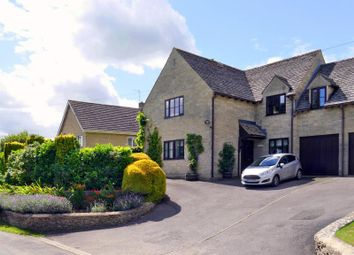Thumbnail 4 bed semi-detached house to rent in Wains Road, Daglingworth, Cirencester