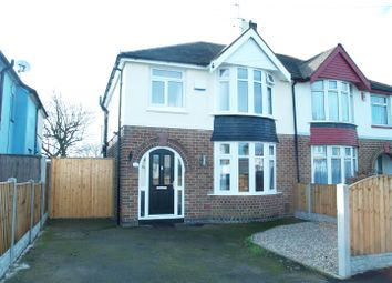 Thumbnail Semi-detached house for sale in Grasmere Crescent, Sinfin, Derby