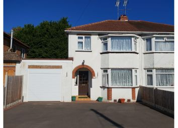 Thumbnail 3 bed semi-detached house for sale in Walkwood Crescent, Redditch