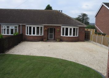 Thumbnail 2 bed semi-detached bungalow to rent in Station Road, Hatfield, Doncaster, South Yorkshire