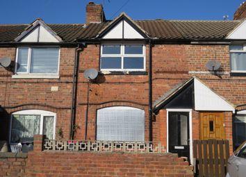 Thumbnail 2 bedroom terraced house for sale in Scarsdale Street, Dinnington, Sheffield