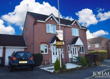 Thumbnail 2 bed semi-detached house to rent in Stanier Drive, Leicester